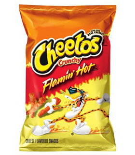 Cheetos crunchy flamin'hot grand format