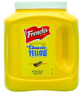 French's yellow mustard - 3L