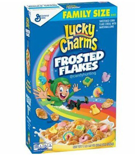 LUCKY CHARMS CEREALES FROSTED FLAKES