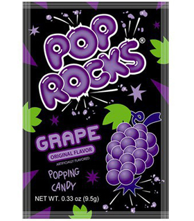 Pop Rocks raisin