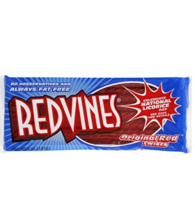 RED VINES TWISTS ORIGINAL FRAISE