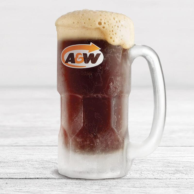 Root beer A&W version allégé (diet/light)