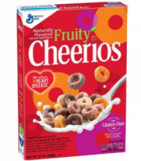 Cheerios Cereales Fruity