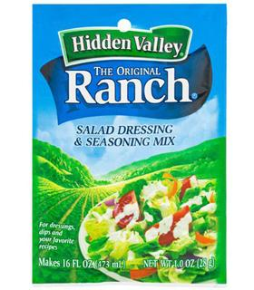 Sauce Ranch Hidden Valley en sachet