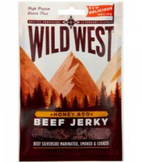 Wild West Beef Jerry Honey BBQ